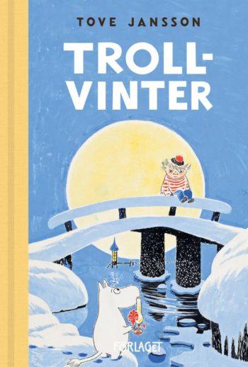 Um livro dos Moomins com o título em sueco.